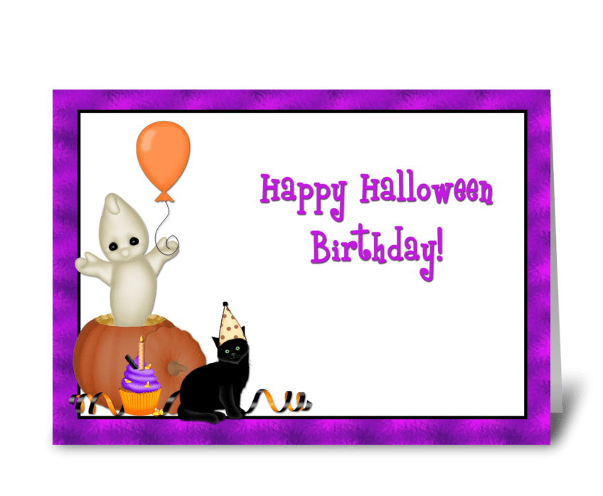 halloween birthday designed by starstock greetings