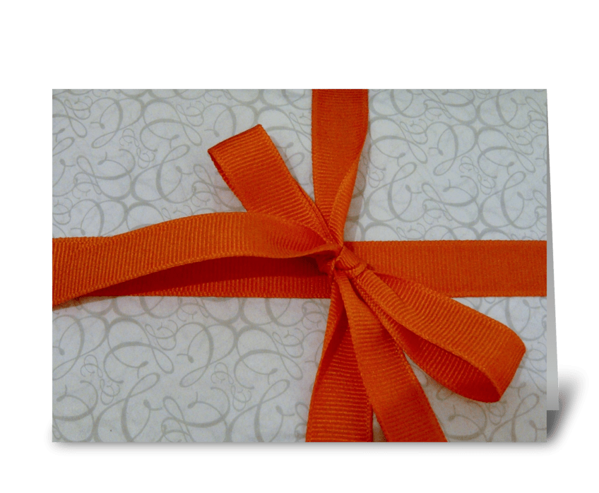 Birthday Gift greeting card