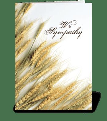 Resurrection Sympathy greeting card