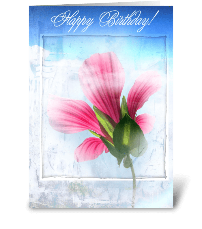A very special Birthday greeting card