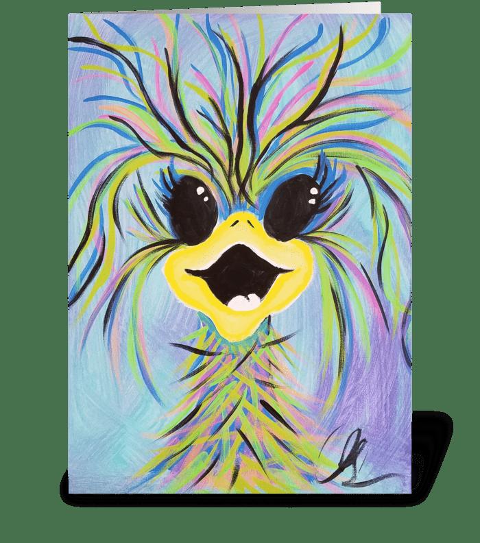 Birthday Joy greeting card