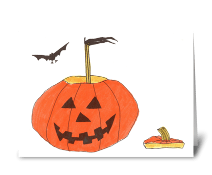 best witches for Halloween greeting card