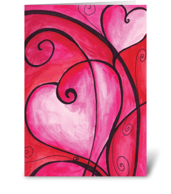 Heart For You greeting card