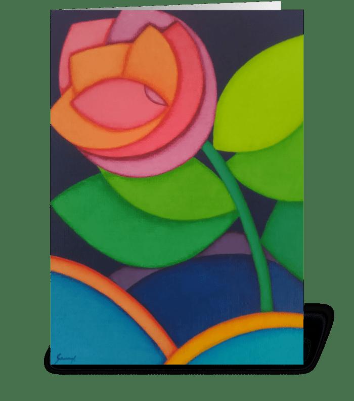Rosia greeting card