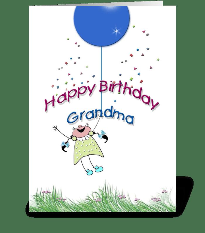 Happy birthday grandma send this greeting card designed by happy birthday grandma greeting card m4hsunfo