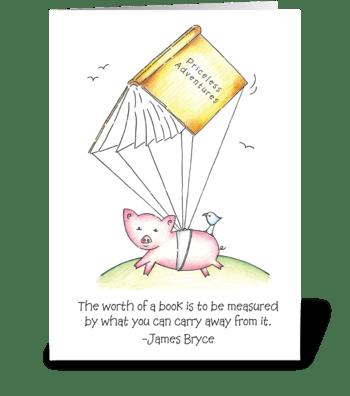 Priceless Adventures greeting card