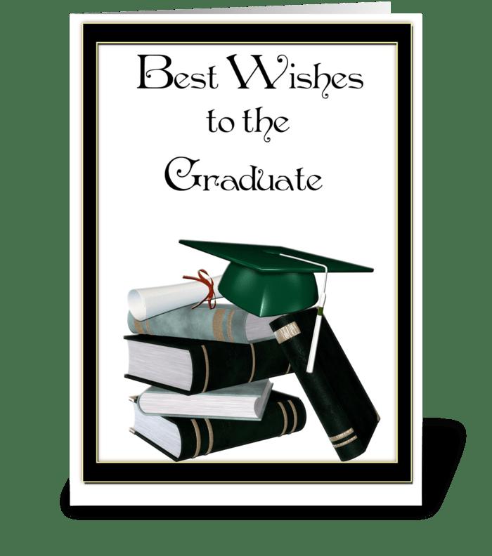Graduate Congratulations greeting card