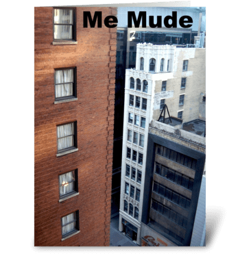 Me Mude/I've Moved greeting card