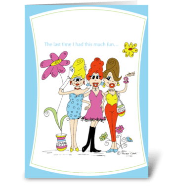 Beehive Friends greeting card