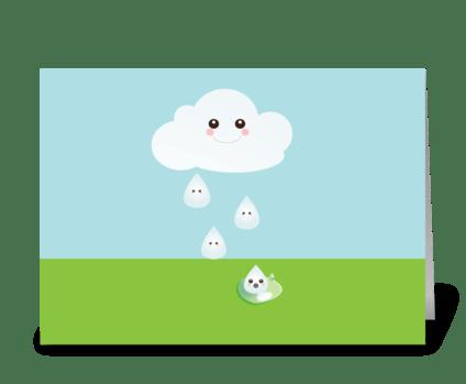 Sweet Cloud greeting card