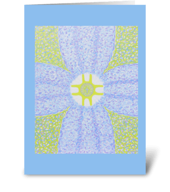 The Resurrection & The Life greeting card