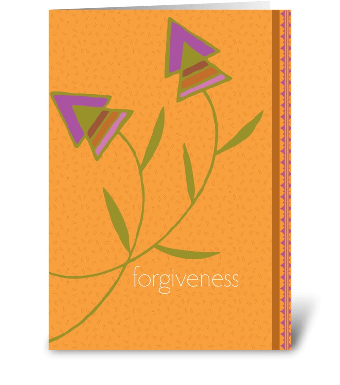 Forgiveness send this greeting card designed by studio expressio forgiveness greeting card m4hsunfo
