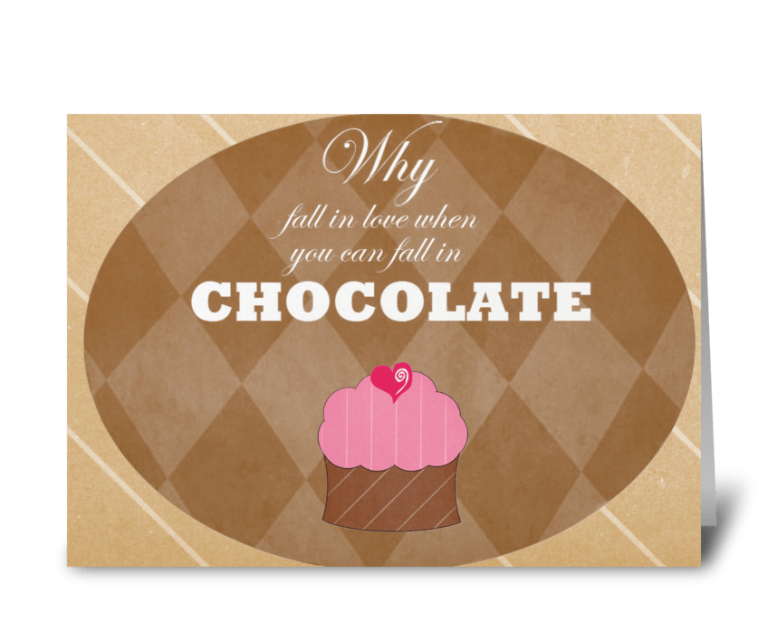 Why fall in Love greeting card