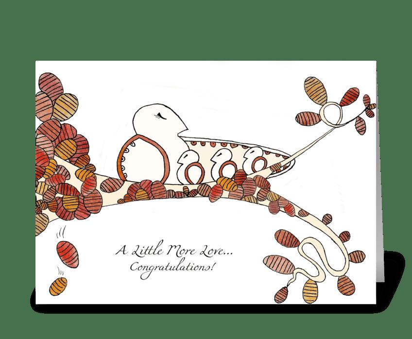 Seasons of Love (Fall) greeting card