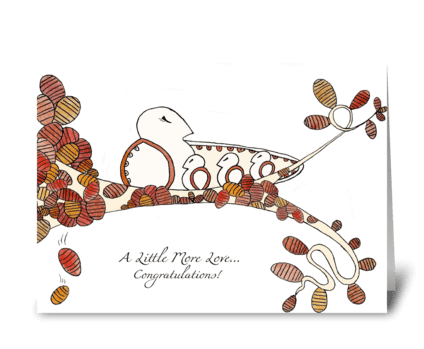 Seasons of Love (Fall) greeting card