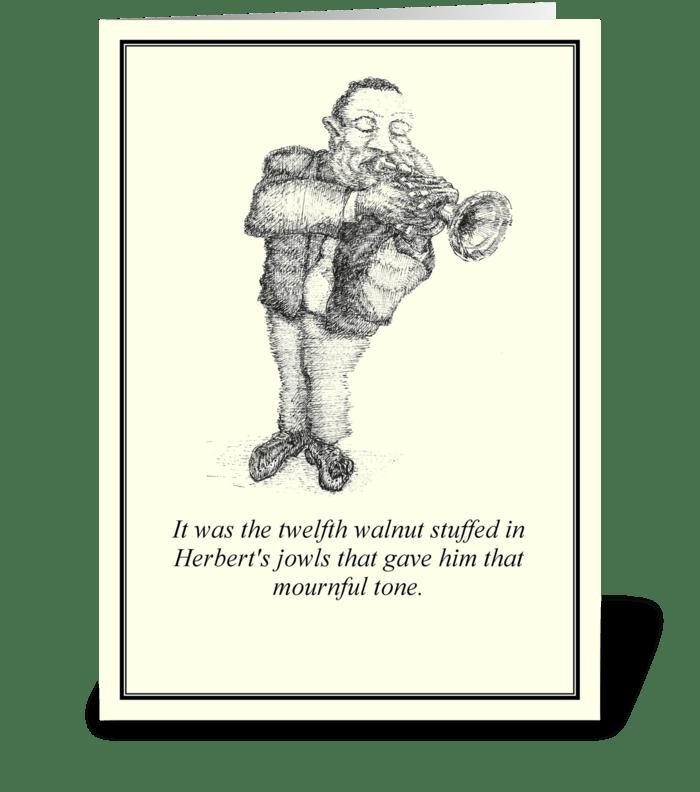 Herbert greeting card