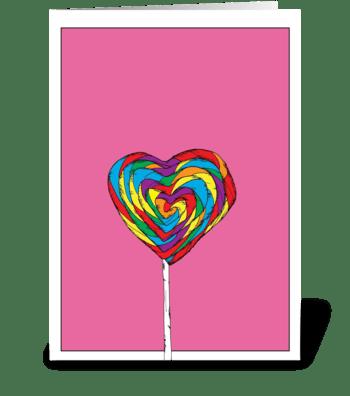 Sweet Heart greeting card