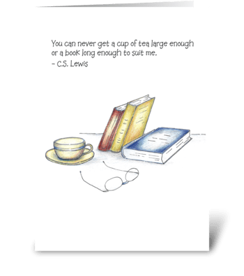 Suit Me greeting card