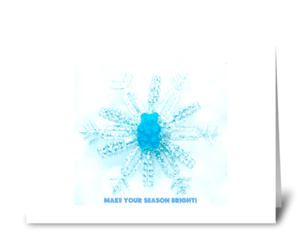 Make Your Season Bright greeting card