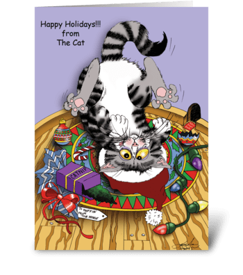 Visions of Sugar-Mice greeting card