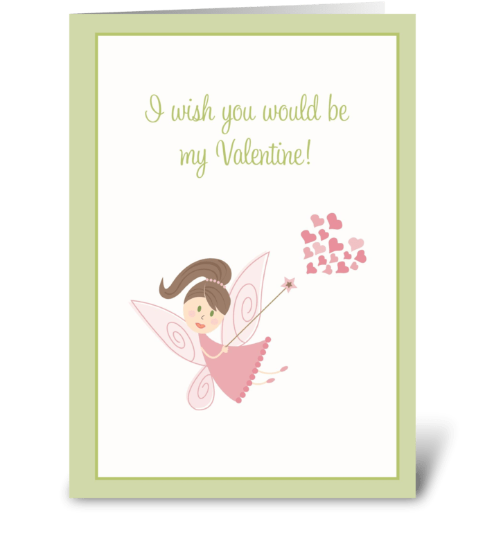 Wish you Would Be greeting card