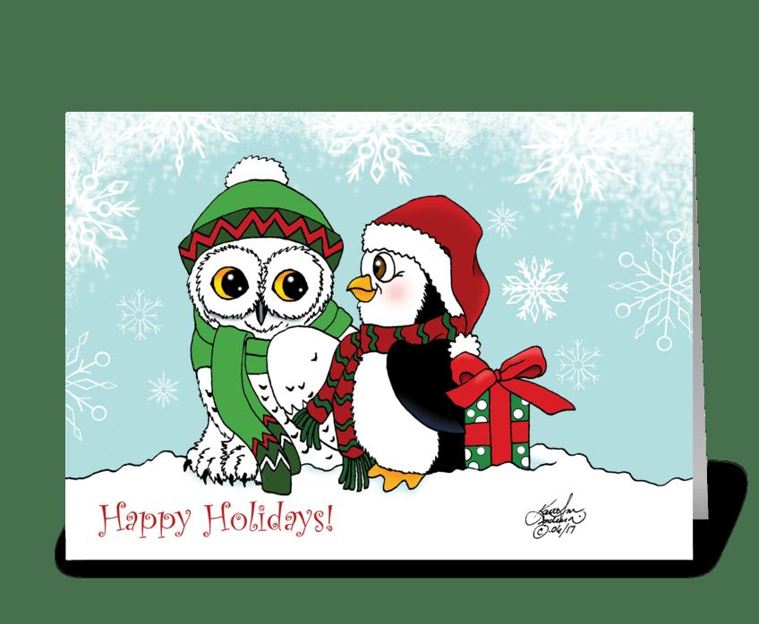 A Christmas Friendship greeting card