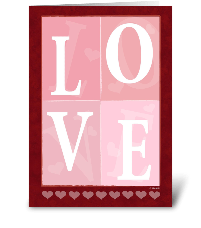 Love scramble romantic greeting card send this greeting card love scramble romantic greeting card greeting card m4hsunfo