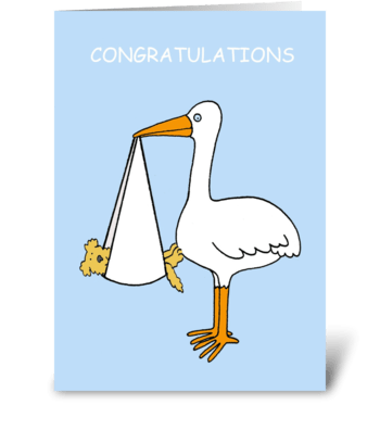Congratulations new pet dog. greeting card