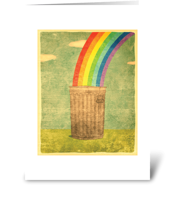 Forgotten Memories Greeting Card greeting card