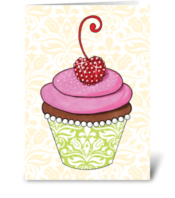 Cupturecake Birthday greeting card
