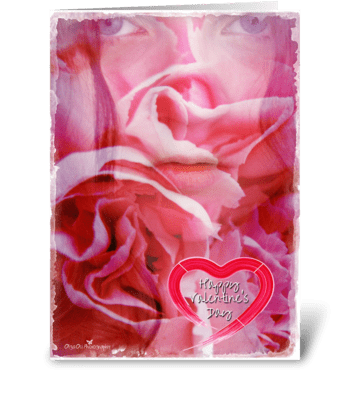 Love is a promise greeting card