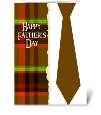 Great Father and Friend greeting card
