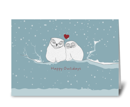 Greeting cards designed by caramel expressions card gnome happy owlidays greeting card m4hsunfo