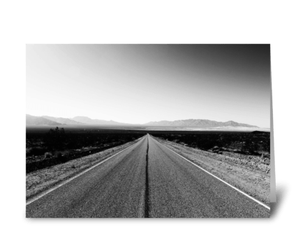 Mojave Desert greeting card