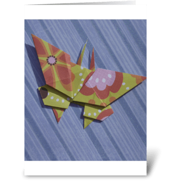 a Butterfly for all occasion greeting card