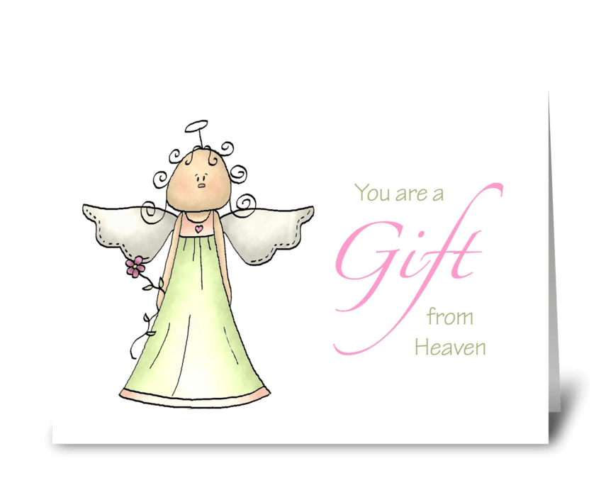 Gift from heaven adoption anniversary send this greeting card gift from heaven adoption anniversary greeting card m4hsunfo