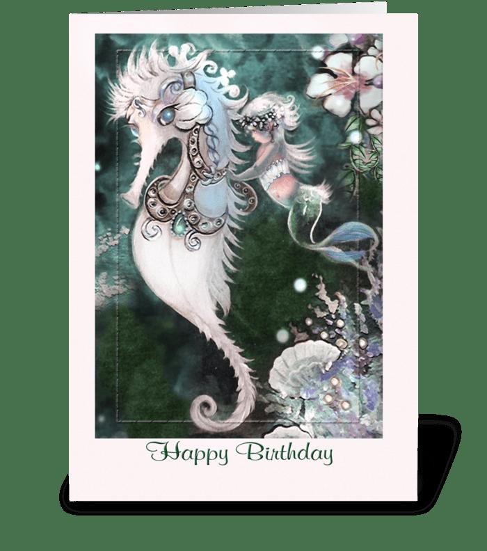 Happy Birthday, Fun Greeting greeting card