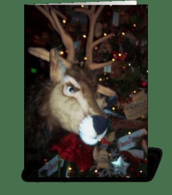 It is Christmas, DEER!! greeting card