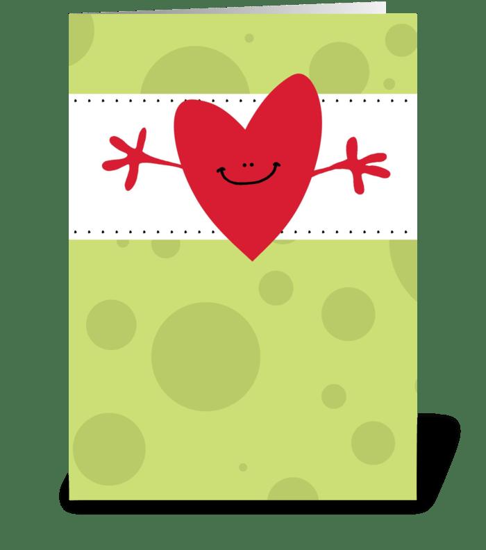 Great Big Hug - Get Well greeting card