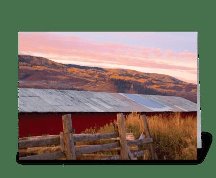 Seasons: Mid-Fall greeting card