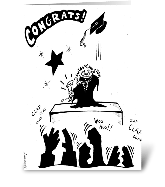 Graduation! greeting card