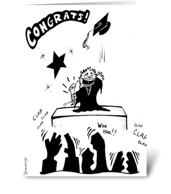 Graduation! greeting card