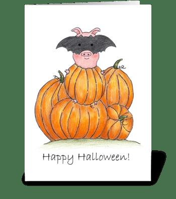 Happy Halloween! greeting card