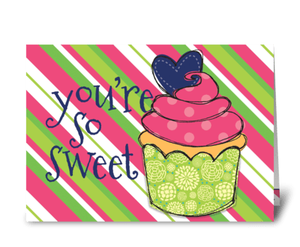 Sweet Treat greeting card
