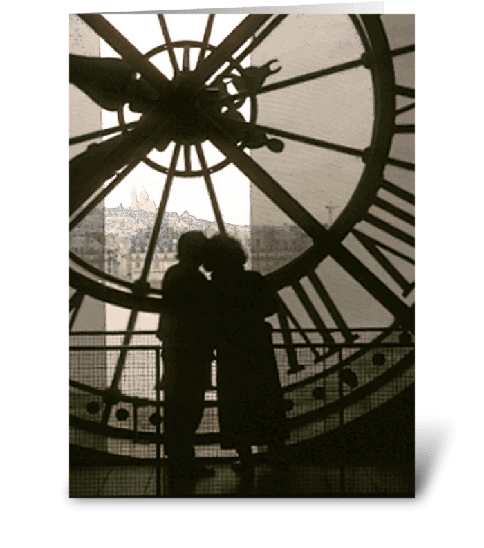 Time for Love greeting card
