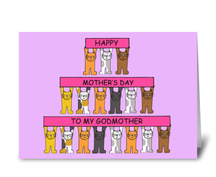 Godmother Happy Mother's Day greeting card