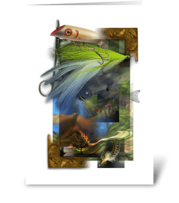 Fishing Dreams greeting card