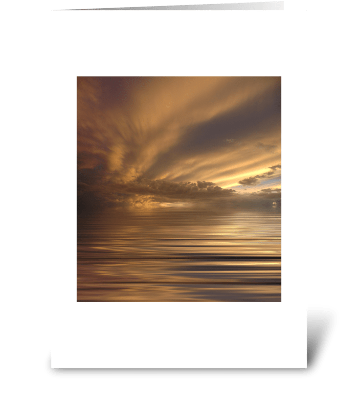 Before the Dawn greeting card