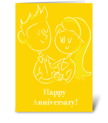 Lovely Love greeting card