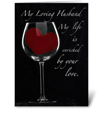 4090 Husband Anniversary greeting card